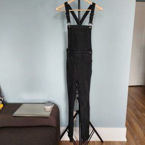 Brandy Melville Black Overalls - Size Small